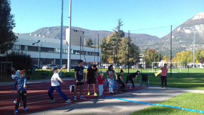 Photo du cycle athlétisme de Tremplin Handisport
