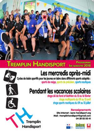 Affiche Tremplin Handisport